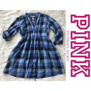 Pink Victoria's Secret Shirt Dress/Tunic